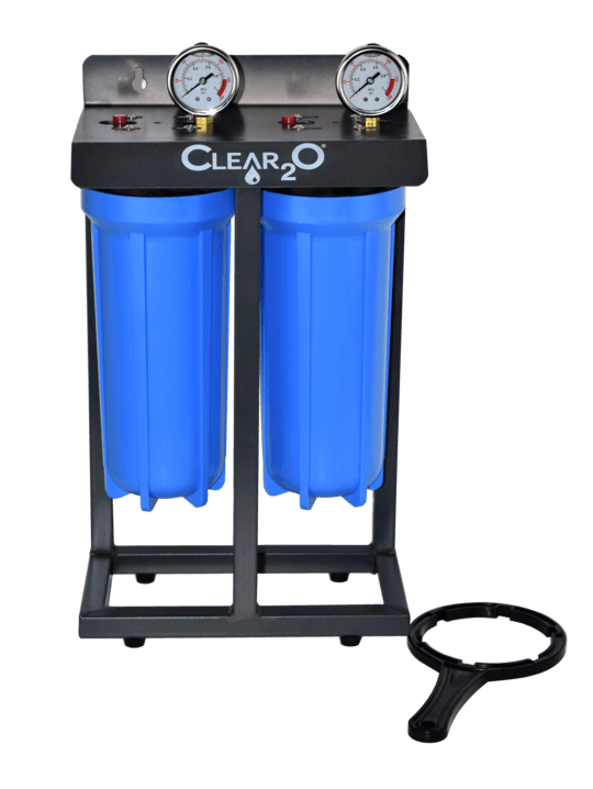 Clear2O Dual Canister RV Water Filter