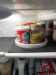 Lazy Susan Turntable in Refrigerator