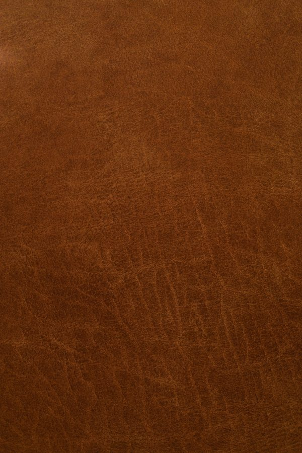 real brown leather