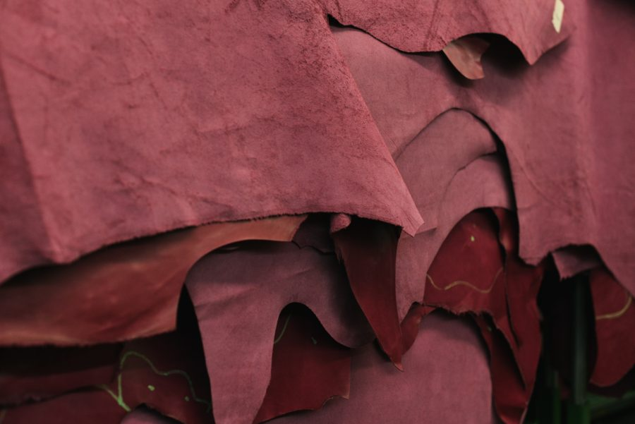 suede fabric swatches