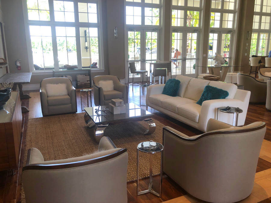 Palm Beach Motorcoach Resort Clubhouse Social Distancing