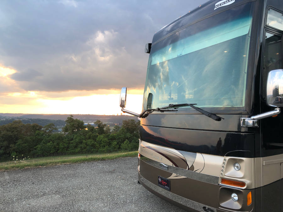 RV and Grand View Golf Club Pittsburgh