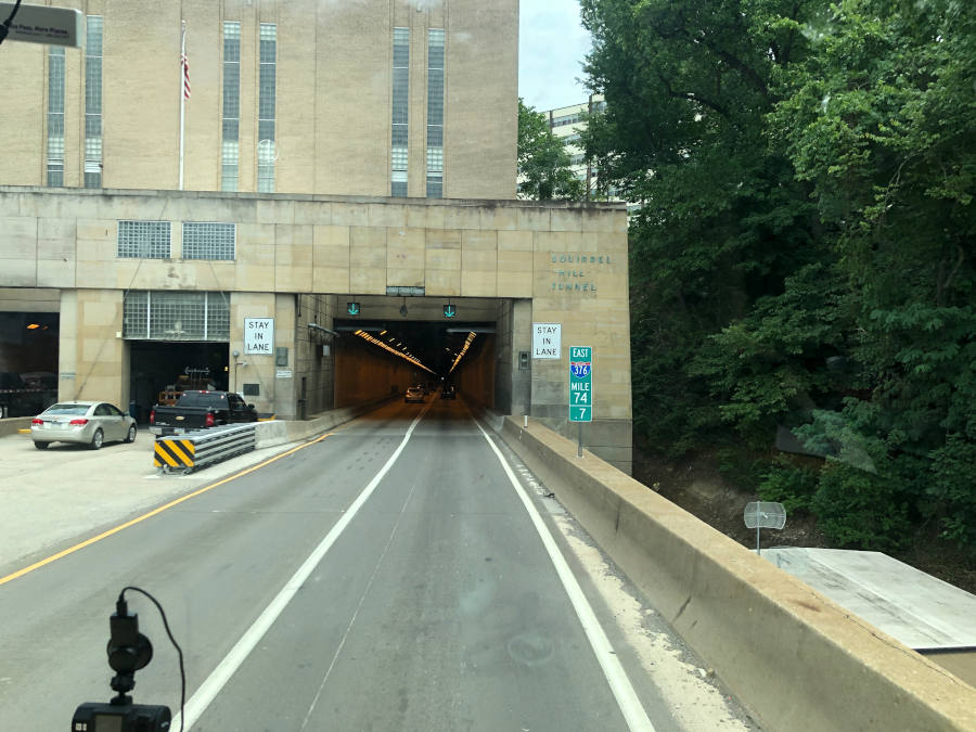 Squirrel Hill Tunnel Pittsburgh