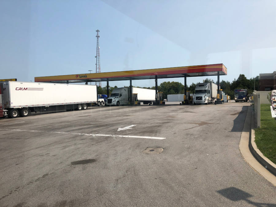 Truck Stop RV Fueling